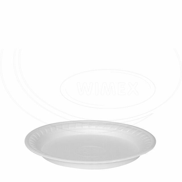 Termo-talíř bílý Ø 22,5 cm [100 ks]