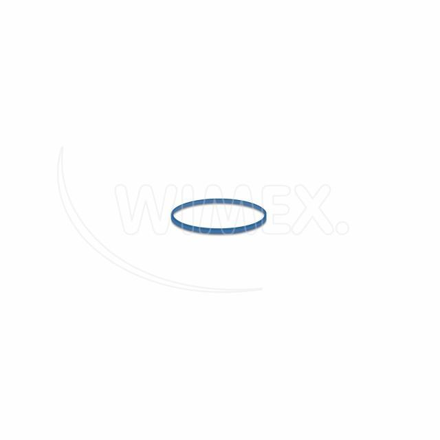 Gumička modrá slabá (1 mm, Ø 2 cm) [1 kg]