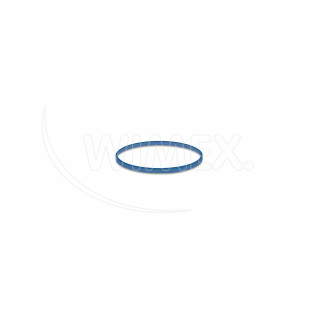 Gumička modrá slabá (1 mm, Ø 3 cm) [1 kg]