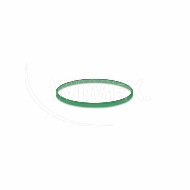 Gumička zelená slabá (1 mm, Ø 5 cm) [1 kg]