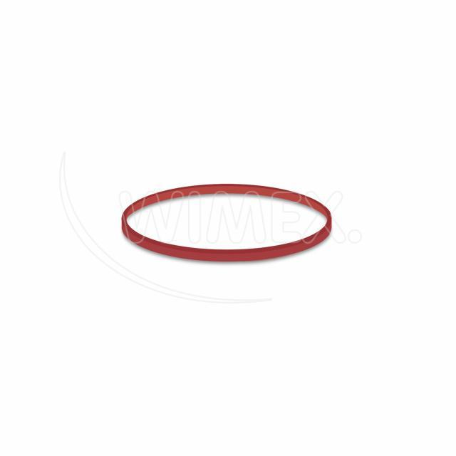 Gumička červená slabá (1 mm, Ø 6 cm) [1 kg]