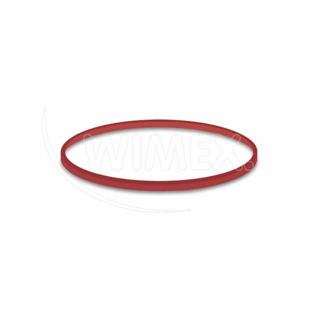 Gumička červená slabá (1 mm, Ø 8 cm) [1 kg]