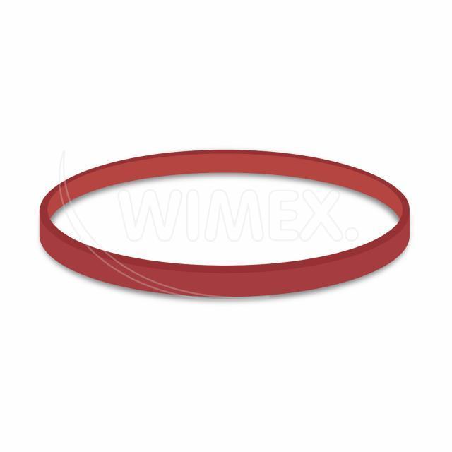 Gumička červená silná (5 mm, Ø 10 cm) [1 kg]
