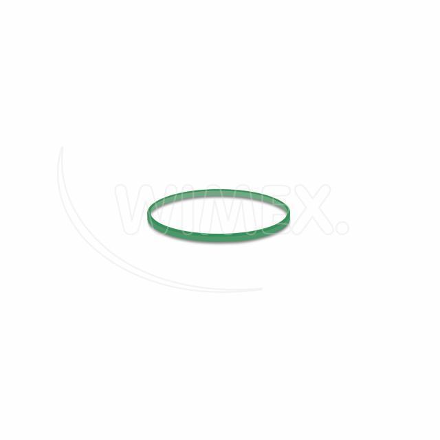 Gumička zelená slabá (1 mm, Ø 4 cm) 50 g [1 bal.]