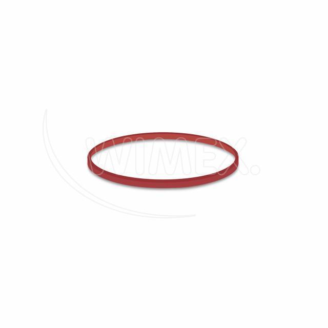 Gumička červená slabá (1 mm, Ø 6 cm) 50 g [1 bal.]