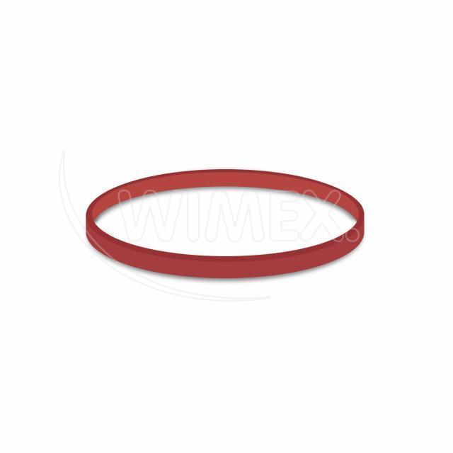 Gumička červená silná (3 mm, Ø 8 cm) [1 kg]