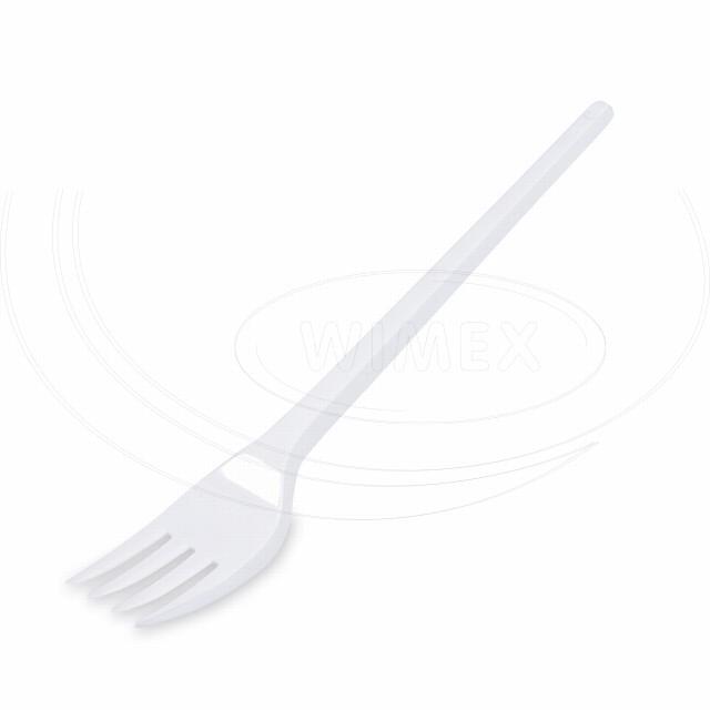 Vidlička bílá 16,5 cm [12 ks]