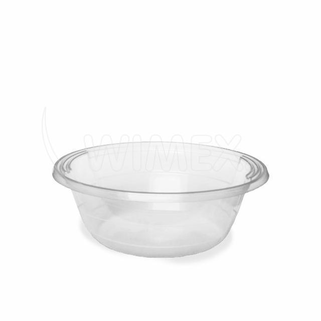Salátová/polévková miska průhledná 600 ml (PP) [50 ks]