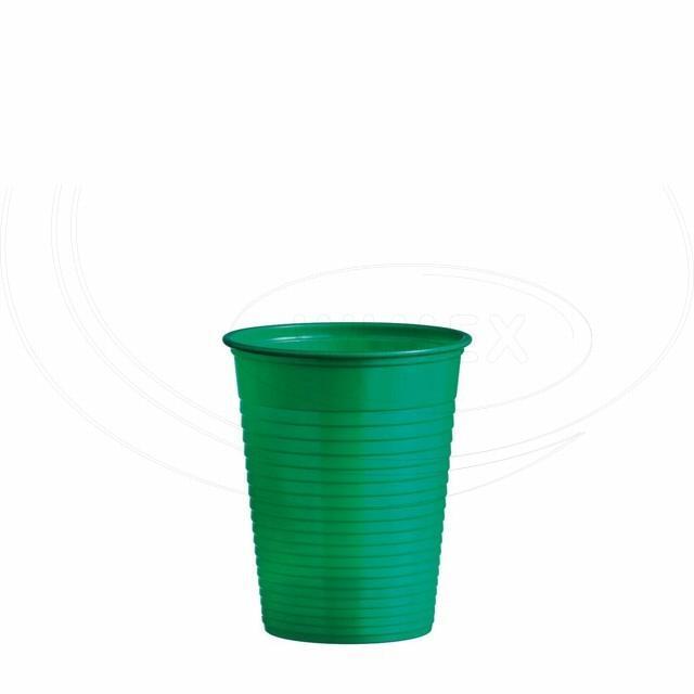 Kelímek zelený 0,18 l (PS) [10 ks]