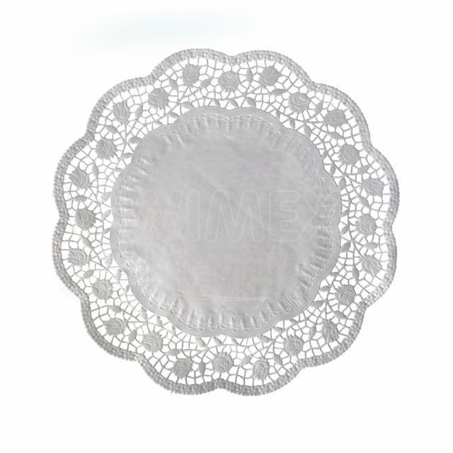 Dekorativní krajka kulatá Ø 32 cm [6 ks]