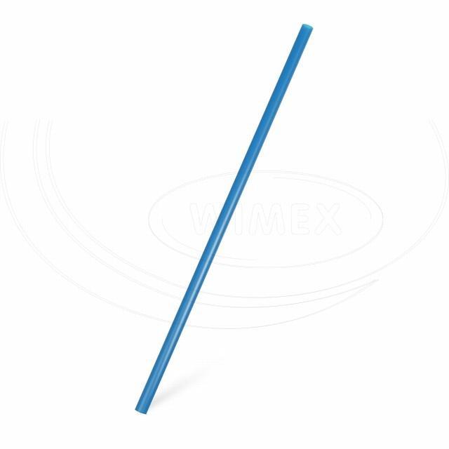 Slámka JUMBO modrá 25 cm, Ø 8 mm [150 ks]