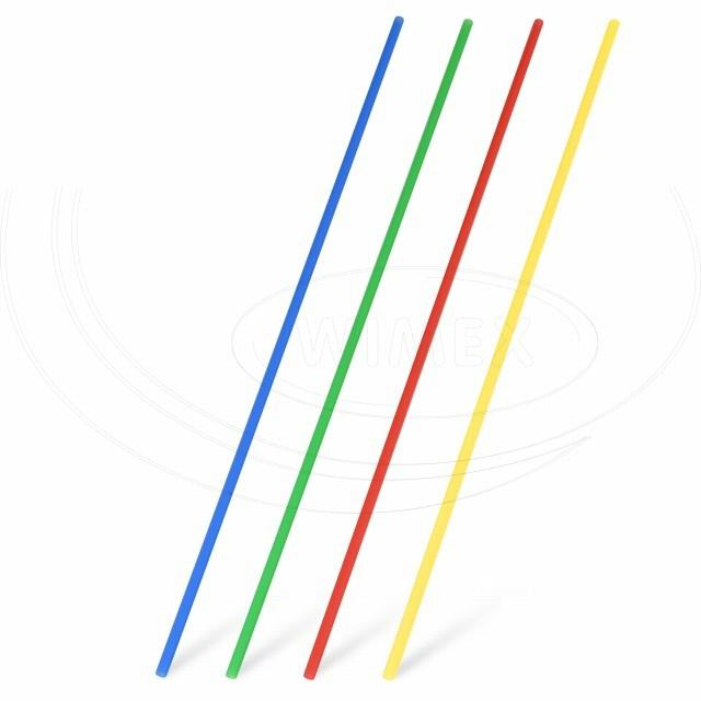 Slámka rovná barevný mix 27 cm, Ø 3 mm [100 ks]