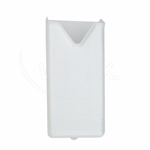 Plastový zásobník hyg. papírových sáčků, bílý [1 ks]