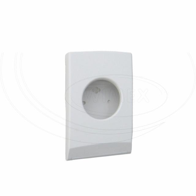 Plastový zásobník hyg. HDPE sáčků, bílý [1 ks]