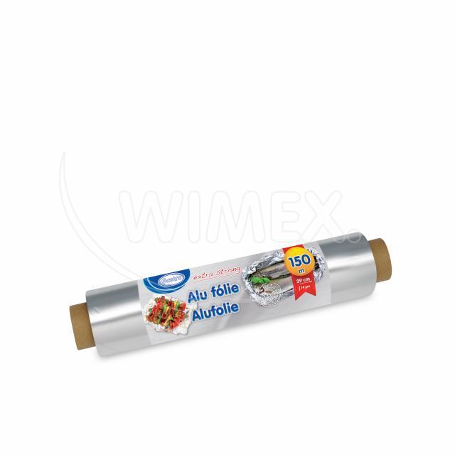 Alu fólie -extra silná- 30cmx150m, 14µm jednotl. balená [1 ks]