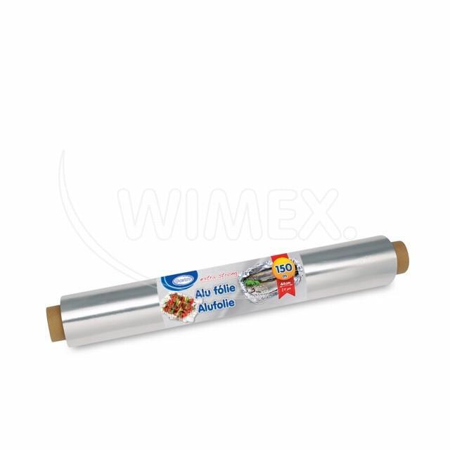 Alu fólie -extra silná- 44cmx150m, 17µm jednotl. balená [1 ks]