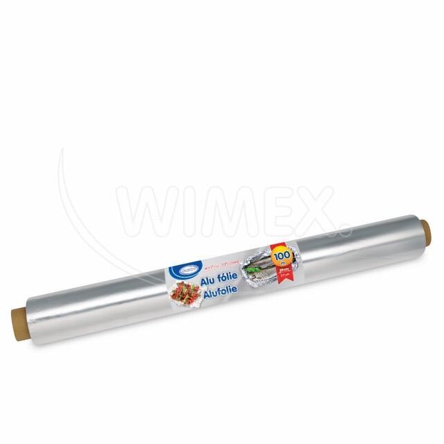 Alu fólie -extra silná- 59cmx100m, 17µm jednotl. balená [1 ks]