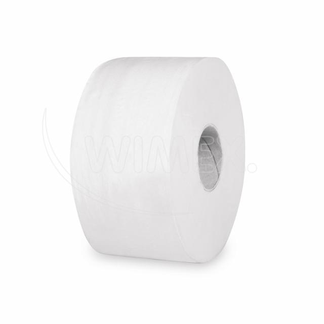 Toaletní papír tissue JUMBO 2vrstvý Ø 19 cm, bílý [12 ks]