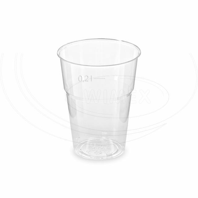 Kelímek krystal 0,2 l (Ø 73 mm) [50 ks]