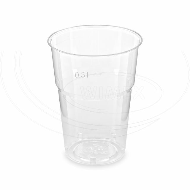 Kelímek krystal 0,3 l (Ø 84 mm) [50 ks]