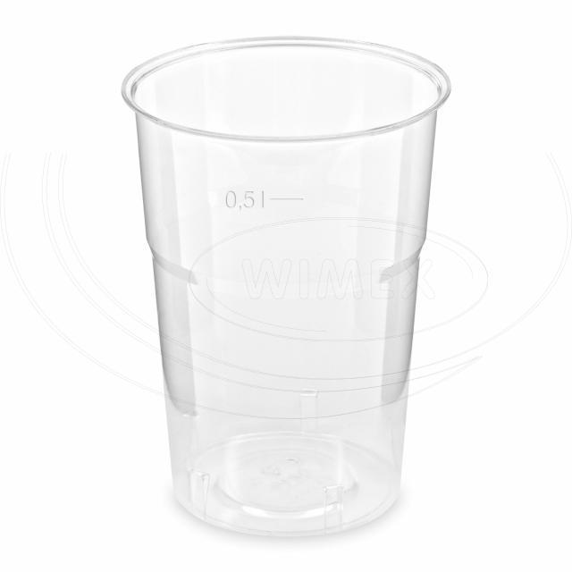 Kelímek krystal 0,5 l (Ø 95 mm) [25 ks]