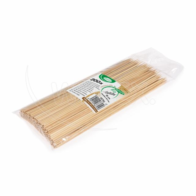 Bambusová špejle hrocená 25 cm, Ø 3 mm [200 ks]