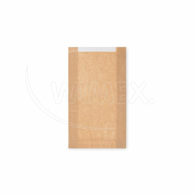 Pap. sáček s okénkem - pečivo velké (18+6x32cm, ok.13cm) [1000ks]