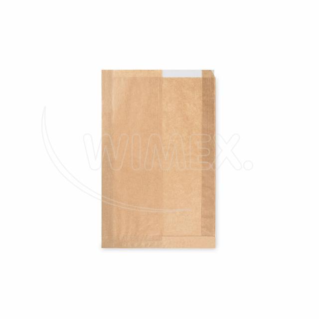 Pap. sáček s okénkem - chléb (22+5 x 34 cm, ok.14 cm) [1000 ks]