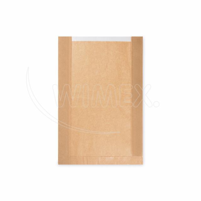 Pap. sáček s okénkem - chléb kulatý (26+7x40cm, ok.19cm) [1000ks]