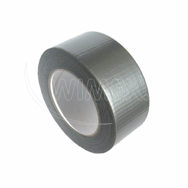 Lepící páska s tkaninou, stříbrná, 48 mm x 50 m [1 ks]