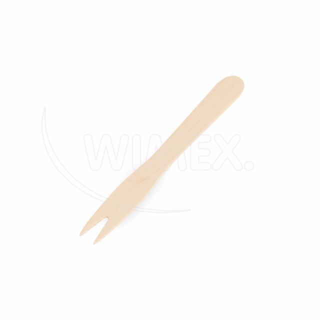 Vidlička na hranolky ze dřeva 8,5 cm [1000 ks]