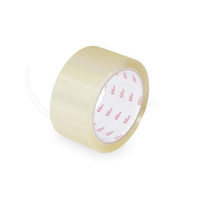 Lepící páska průhledná (Hot-Melt) 66 m x 48 mm [1 ks]