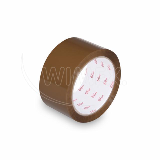 Lepící páska hnědá (Hot-Melt) 66 m x 48 mm [1 ks]