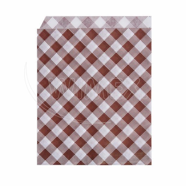 Papírový sáček KARO 14 x 19 cm [500 ks]