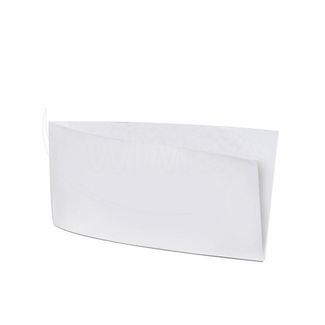 Papírový sáček (HOT DOG) bílý 10 x 19 cm [500 ks]