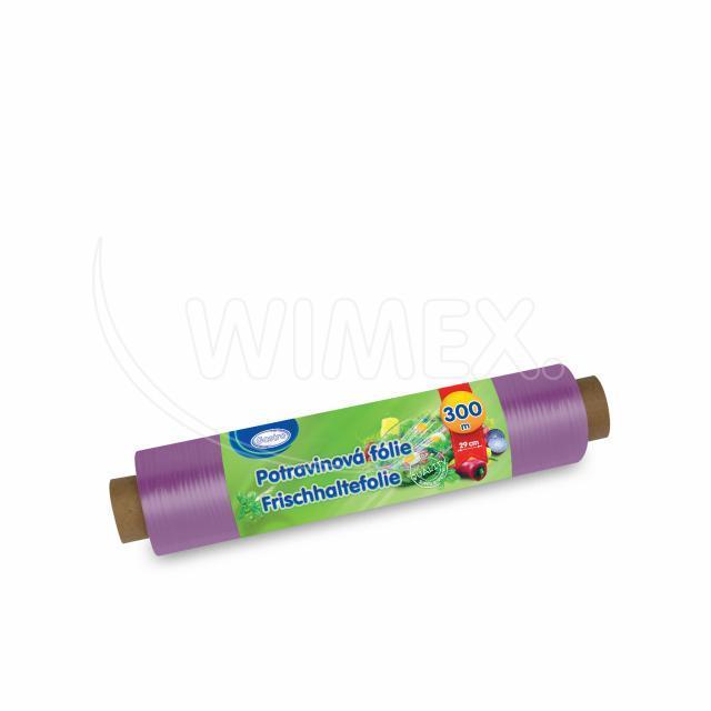 "Potravinová fólie ""PVC"" 30cm x 300m jednotlivě balená [1 ks]"