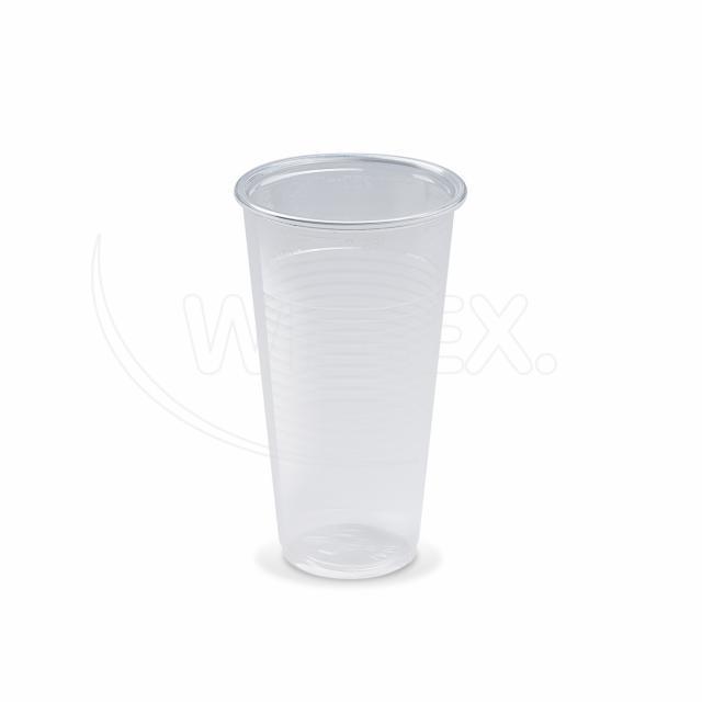 Kelímek průhledný 0,25 l -PP- (Ø 70 mm) [100 ks]