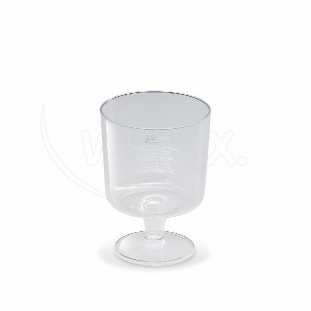 Kelímek krystal na stopce 0,2 l [10 ks]
