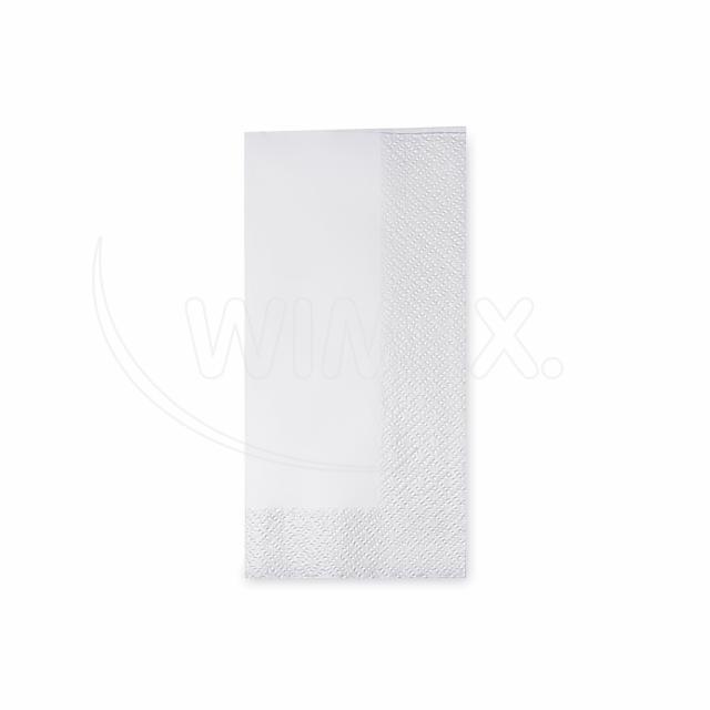 Ubrousek 3vrstvý, 33 x 33 cm bílý 1/8 skládání [250 ks]