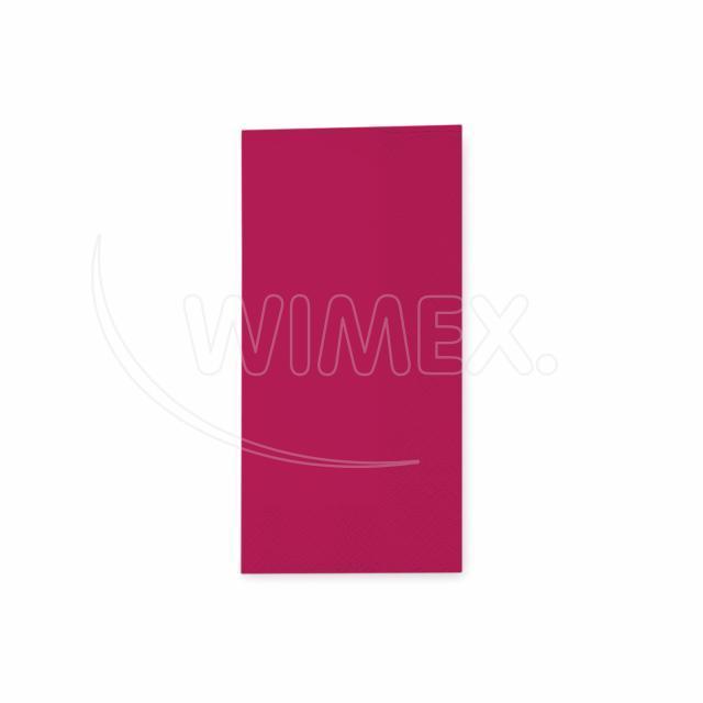 Ubrousek 3vrstvý, 33 x 33 cm bordový 1/8 skládání [250 ks]