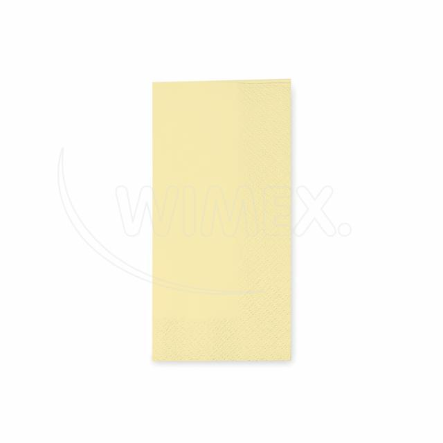 Ubrousek 3vrstvý, 33 x 33 cm béžový 1/8 skládání [250 ks]