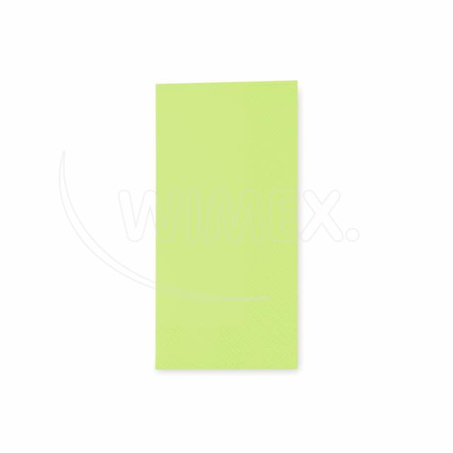 Ubrousek 3vrstvý, 33 x 33 cm žlutozelený 1/8 skládání [250 ks]
