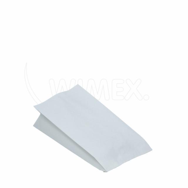 Pap. sáček nepromastitelný bílý 10,5+5,5 x 24 cm [100 ks]