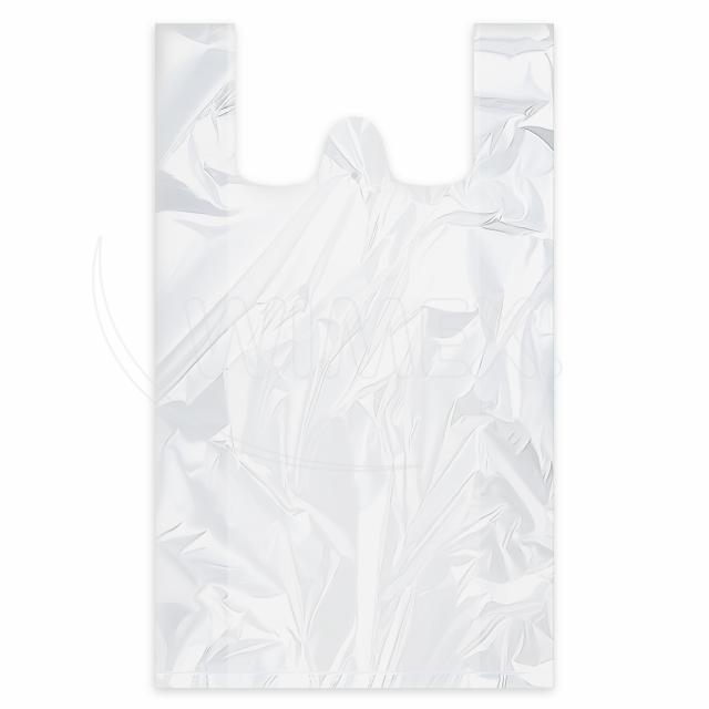 Taška 20kg bílá 40+20 x 60 cm -extra silná- [50 ks]