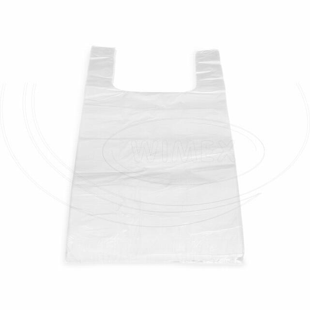 Taška 5kg LDPE bílá 25+12 x 47 cm -extra silná- [1000 ks]