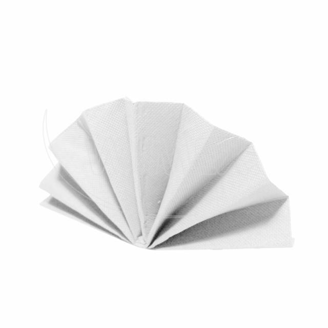 Ubrousek DekoStar 40 x 40 cm bílý [40 ks]