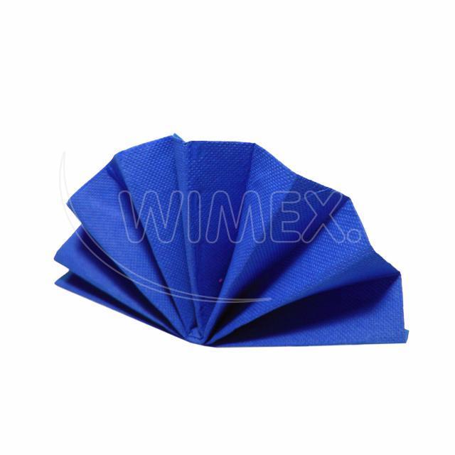 Ubrousek DekoStar 40 x 40 cm tmavě modrý [40 ks]