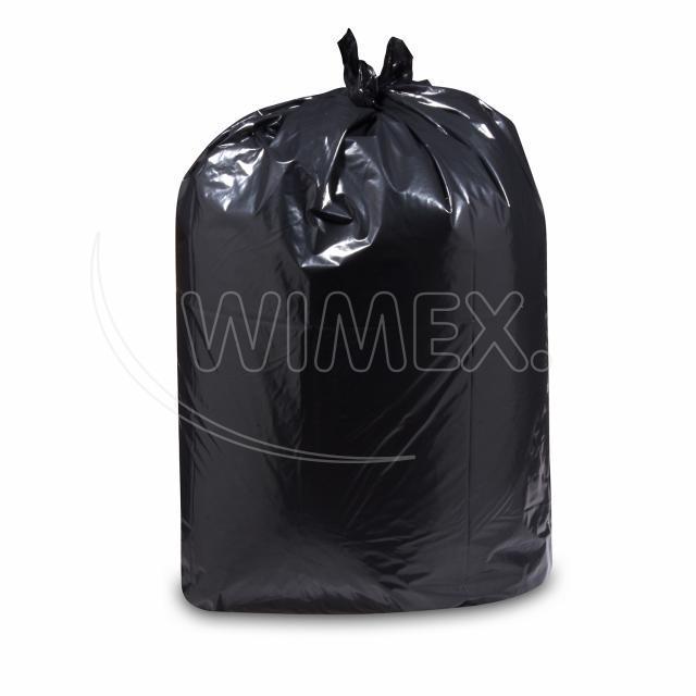 Pytel na odpadky černý 100x125cm, 240 l, Typ 80 [10 ks]