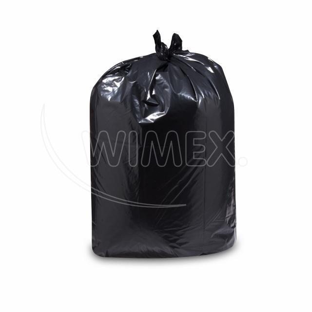 Pytel na odpadky černý 90x110cm, 140 l, Typ 60 [25 ks]