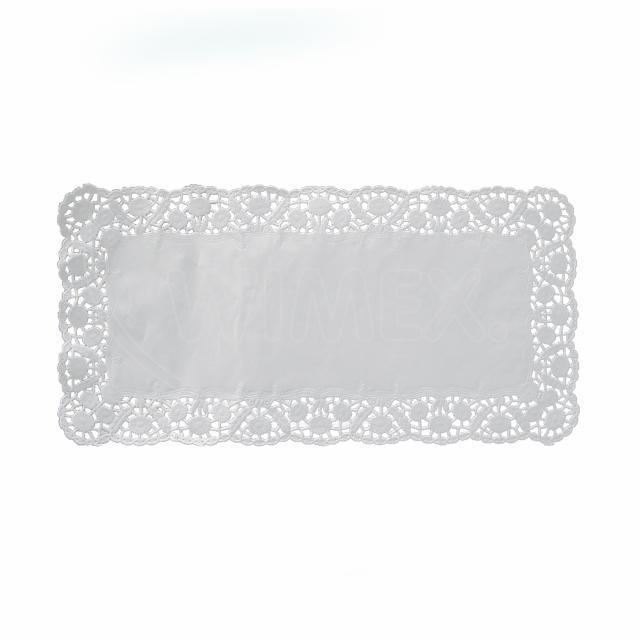 Dekorativní krajka hranatá 25 x 38 cm [6 ks]